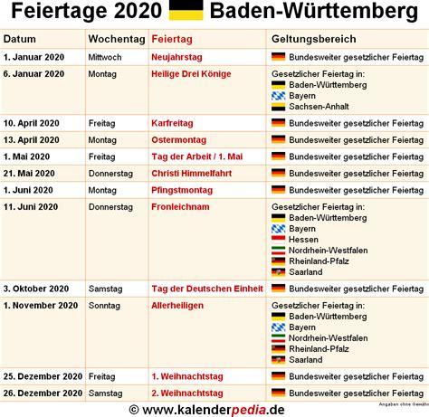 Feiertage, ferien und schulferien 2021 aller bundesländer. Feiertage 2021 Bw : Kalender 2022 Baden-Württemberg: Ferien, Feiertage, Excel ... / Lediglich ...