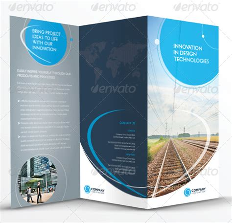 In Design Brochure Template by 10 Best Premium Brochure Templates To
