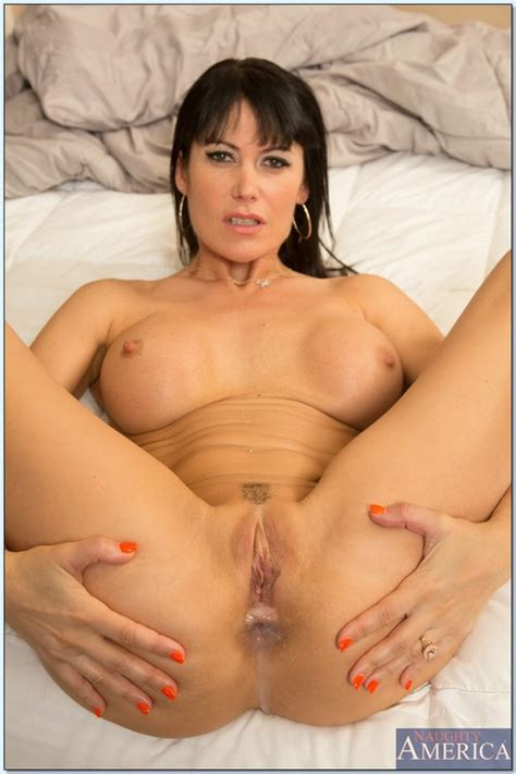 stunning milf porn star stripping and teasing photos eva