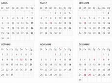 El calendario de festivos en Catalunya para el 2018