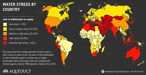 World's 36 Most Water-Stressed Countries | World Resources ...