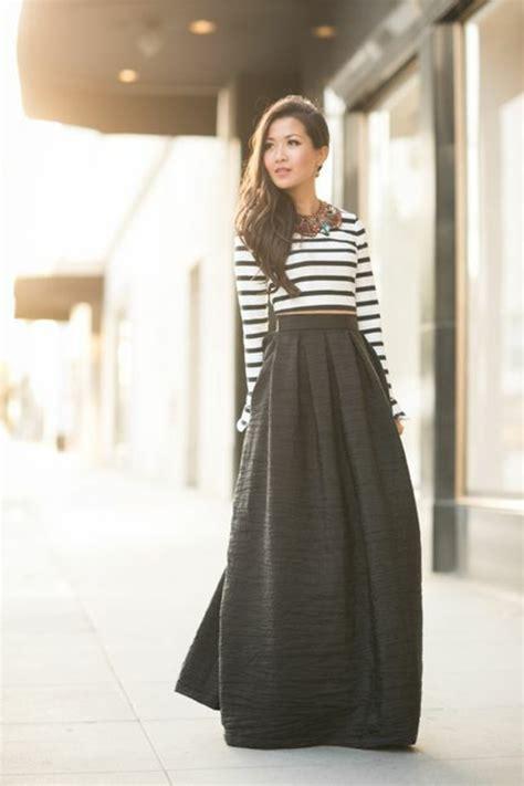 robe de chambre comment porter une jupe longue