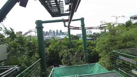 Canopy Flyer  Universal Studios Singapore  Pov Forwards