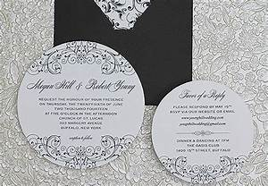 22 free printable wedding invitations With wedding invitation round box