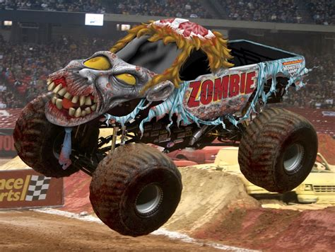 monster jams trucks monster truck zombie keep rollin 39 rollin 39 rollin