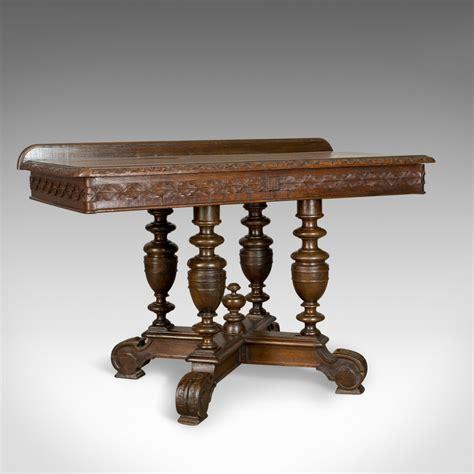 antique oak console table antique console table oak antiques 4116