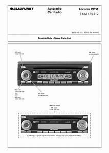 Service Manual For Blaupunkt Alicante Cd32 Blaupunkt