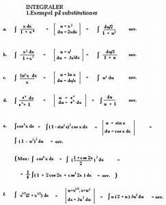 Integral Rechnung : substitutioner ~ Themetempest.com Abrechnung