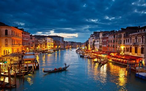 Venice Grand Canal Canuckabroad Places