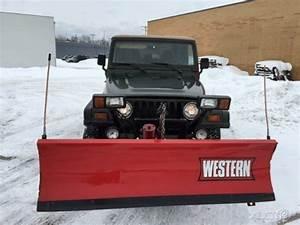 1998 Sahara Snow Plow Western Used 4l I6 12v Manual 4wd Suv