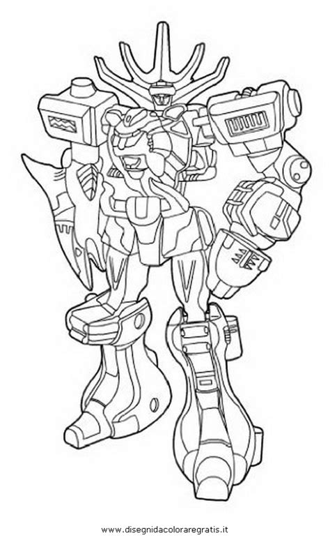 power rangers megazord coloring pages getcoloringpagescom