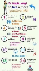 Lifestyle And More : 15 simple ways to live a more positive life positive ~ Watch28wear.com Haus und Dekorationen