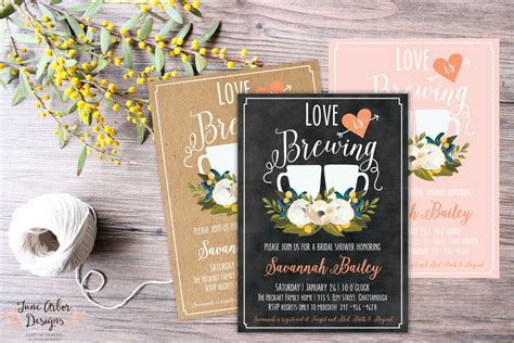 Love Is Brewing Bridal Shower Invitation Wedding Registry Luggage Message Tumblr Digest Naija Gift Bags Johannesburg Shoot Completion Discount Yeti