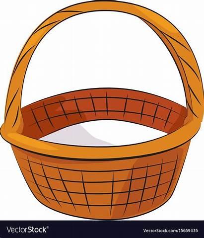 Basket Cartoon Symbol Icon