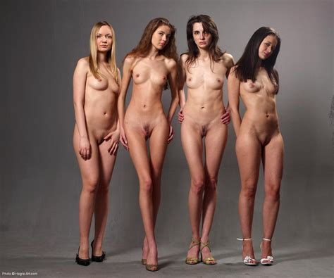 Alya Is Nude With Her Friends Hegre