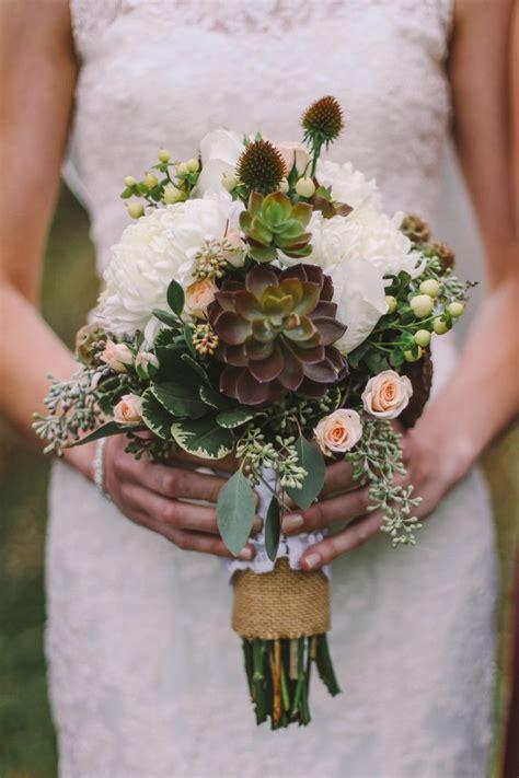 rustic wedding bouquets ideas  pinterest