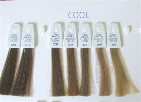 Wella Ash Brown Hair Color Chart