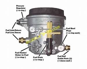 7 3 Fuel Bowl Pressure Gauge Adapter