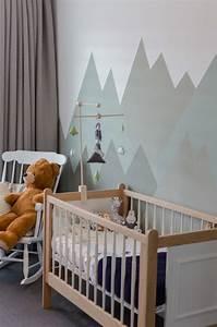Deco Chambre Bois : 1001 conseils pour trouver la meilleure id e d co chambre b b mixte ~ Melissatoandfro.com Idées de Décoration