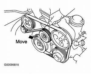 2002 Lexus Es 300 Serpentine Belt Routing And Timing Belt