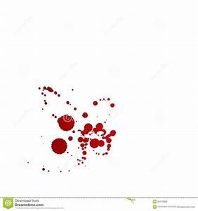 Tache De Sang : taches de sang d 39 isolement sur le fond blanc illustration ~ Melissatoandfro.com Idées de Décoration