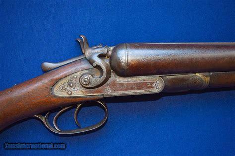 Colt 1878 Double Barrel 10 Gauge Hammer Shotgun