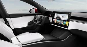 Tesla revela o modelo S e X reprojetado com novos interiores e um volante no estilo K.I.T.T ...