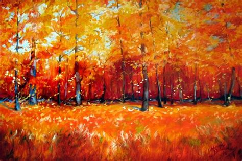 favorite art  marcia baldwin  viewing fall tree