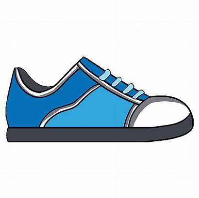 Shoe Shoes Drawing Draw Easy Tutorial Step