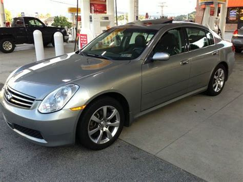 2006 Infiniti G35x by Sell Used 2006 Infiniti G35x Loaded Well Kept In Norcross