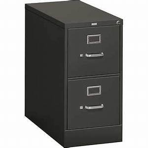 hon 310 series 15quotw 2 drawer letter file charcoal With hon 310 series 2 drawer letter file