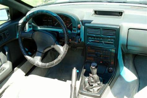 sell   mazda rx  convertible  door black
