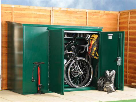 cycle storage sheds metal bike shed for 3 bikes cycle sheds from asgard