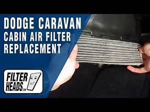 Cabin Air Filter Replacement- Dodge Caravan