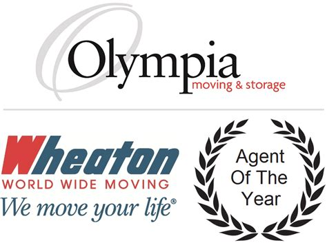 olympia moving storage awarded  wheaton agent