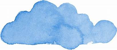 Cloud Watercolor Transparent Onlygfx Px Resolution