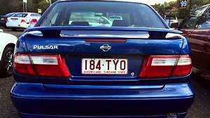 1999 Nissan Pulsar N15 S2 Plus Lx Blue 5 Speed Manual