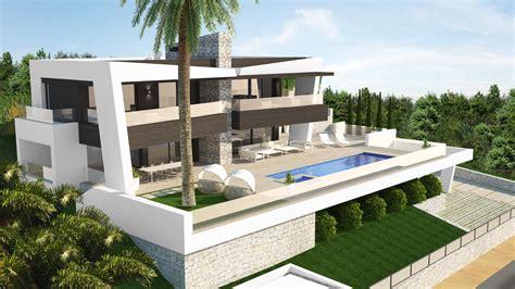 luxury modern villa  marbella