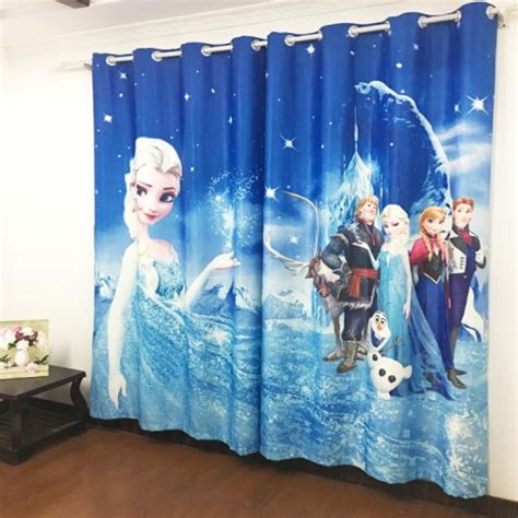 frozen elsa curtain