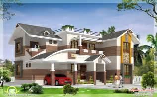 home design bedroom 2700 sq beautiful 4 bedroom house elevation kerala house design idea