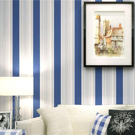 Boys Bedroom Wallpaper by Seller S Boys Bedroom Wallpaper Mediterranean Blue Striped
