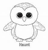Glubschi Zum Coloring Beanie Boo Ty Printable Ausmalen Ausmalbilder sketch template