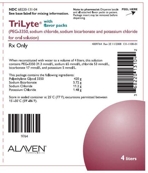 TriLyte Solution - patient information, description