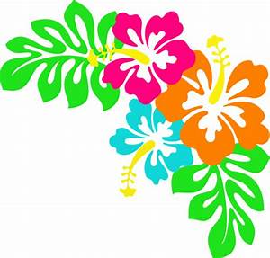 Tropical Leaves Clip Art | Hibiscus clip art | DIY and ...