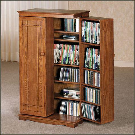 multimedia storage cabinet with doors wooden storage