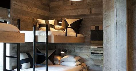 rustic bunk beds  adults ken linsteadt architects santa fe ranch house pinterest bunk bed architects  bunk rooms