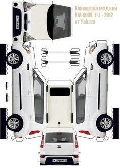 zum ausdrucken und basteln papierautos pinterest