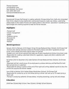 chinese chef resume template best design tips With how to write a chef resume