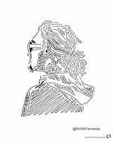 Lil Pump Coloring Pages Drawing Fan Printable Getdrawings Text Bettercoloring sketch template