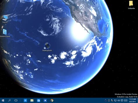 Pro Animated Wallpaper - earth it rotate on your windows desktop